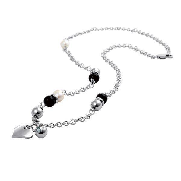 Ожерелье Everiot AAB-21NSLD из стали с подвесками
