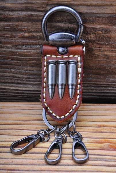 Мужской брелок Everiot TRK-0106 с тремя патронами