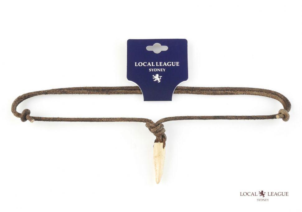 Кулон со шнурком Local League CS-LNM21WHITE